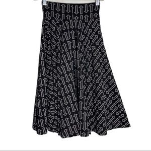 Effie's Heart Sojourn Skirt  My Way Print X-Small